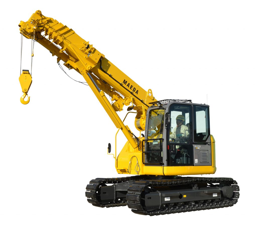 Cc1485 mini crawler crane maeda mini cranes for The crain