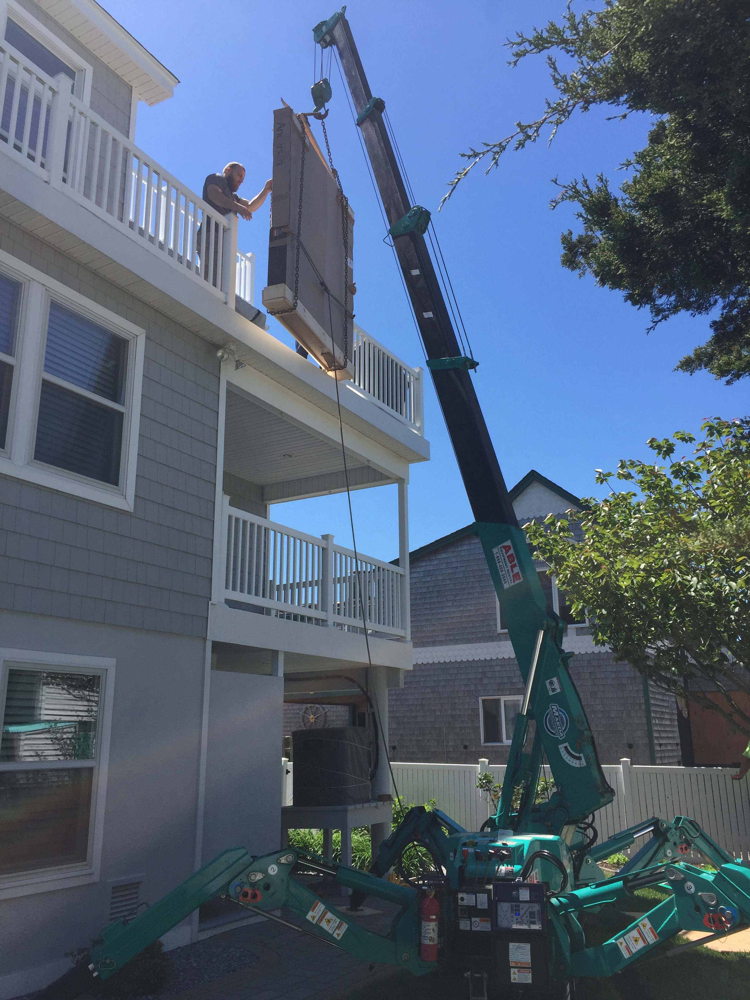 MC285-2 Lifting Porch Railing